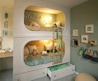 Pri samom planiranju obratite pažnju na položaj dječje sobe, jer on utječe na djetetov odnos prema njoj